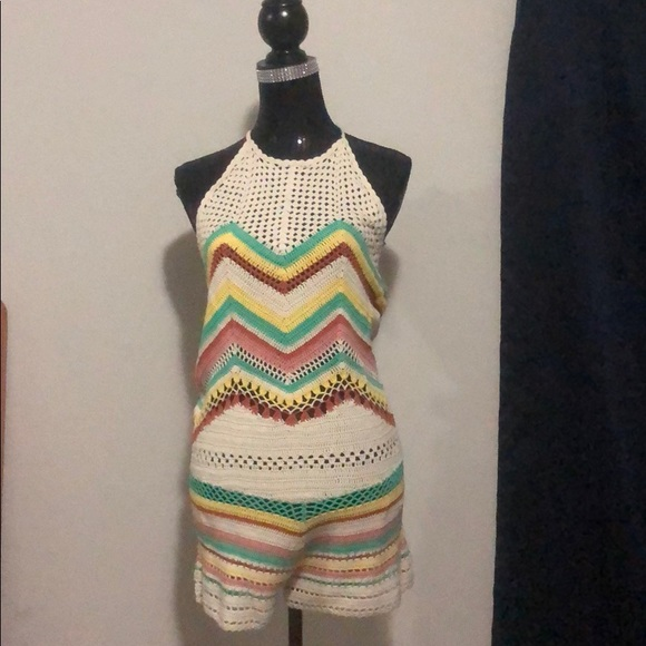 2b0ab623a Forever 21 Other | Nwt Knit Romper | Poshmark